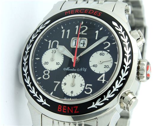 mercedes montre classic chronograph no 4 ebay. Black Bedroom Furniture Sets. Home Design Ideas
